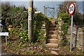 SX5151 : Steps and Kissing Gate by jeff collins