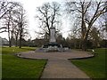 TM1645 : War Memorial in Christchurch Park by Hamish Griffin