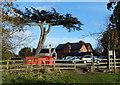 SP5798 : Car park at Glen Parva Manor by Mat Fascione