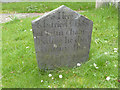 SK7638 : Gravestone, Elton-on-the-Hill by Alan Murray-Rust
