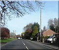 SJ7566 : A54 in Holmes Chapel by Anthony Parkes
