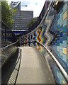 TQ3179 : Ramp up from subway, Elephant & Castle, Newington by Robin Stott