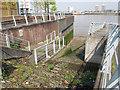 TQ4379 : Slipway at Woolwich by Stephen Craven