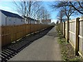 NS5062 : Cycle route at Hawkhead by Lairich Rig
