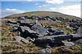 SD8374 : Boulder field, Pen-y-ghent by Ian Taylor