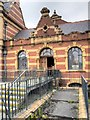 SJ8595 : Females Entrance at Victoria Baths by David Dixon