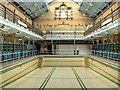 SJ8595 : Manchester Victoria Baths, Females Pool by David Dixon