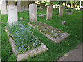 TQ3864 : Commonwealth War Graves, West Wickham  by Stephen Craven