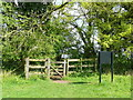 TL1229 : Gate onto the Pegsdon Hills Nature Reserve by Humphrey Bolton