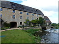 TL1197 : Former water mill at Water Newton by Richard Humphrey