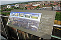 SJ4066 : Information Panel on the tower of Chester Cathedral by Jeff Buck
