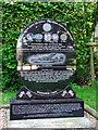 TM3186 : RAF Bungay (USAAF Station 125) - Memorial stone by Evelyn Simak