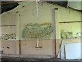 TM3185 : RAF Bungay (USAAF Station 125) - Aero Club mural (10) by Evelyn Simak