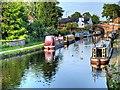 SJ6887 : Bridgewater Canal near Lymm Bridge by David Dixon
