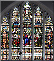 TQ3075 : Epiphany Mission Church, Bedford Road - Stained glass window : Week 20