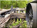 SD3788 : Old Circular Saw, Stott Park Bobbin Mill by David Dixon