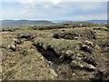 NG1647 : Peat hags by Richard Dorrell