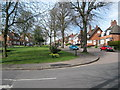 SP0481 : Willow Road looking north-Bournville, Birmingham by Martin Richard Phelan