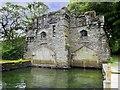 NY3701 : Wray Castle Boathouse, Low Wray Bay by David Dixon