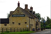SP3208 : The Lord Kitchener on Bampton Road by Steve Daniels