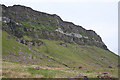 NM4988 : Cliffs at Struidh by Anne Burgess