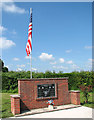 TM3195 : 448th Bombardment Group Memorial by Evelyn Simak