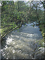 SS9386 : The River Ogmore just north of Blackmill by eswales