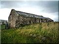 NT9230 : Derelict Farm Building by Kim Fyson
