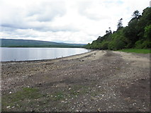 G9423 : Corry Strand, Lough Allen by Kenneth  Allen