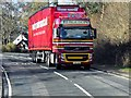 NN0361 : HGV on the A82 by David Dixon