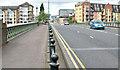 J3473 : The Albert Bridge (EWAY), Belfast - June 2014(1) by Albert Bridge