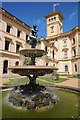 SZ5194 : Fountain, Osborne House by Philip Halling
