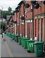 SK5841 : Ransom Road: wheelie bins and satellite dishes : Week 24