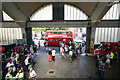 Dist:0.1km<br/>Vintage buses such as this provided special trips on the occasion of the Stockwell Garage Open day on 21st June.
