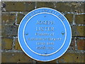 Photo of Joseph Lister blue plaque