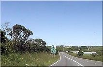 SW6931 : A394 near Carnebone by John Firth