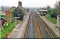 TM2836 : Trimley Station, 1988 by Ben Brooksbank