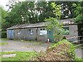 TM2691 : Ex-RAF building in Barford Road by Evelyn Simak