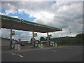 SD6211 : Rivington Services, petrol forecourt by Karl and Ali