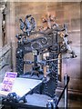 SJ8398 : The Columbian Printing Press at The John Rylands Library by David Dixon