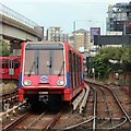 TQ3780 : Docklands Light Railway near India Quay by Oast House Archive