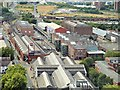 SJ8397 : Museum of Science and Industry (MOSI), Viewed from the Beetham Tower by David Dixon