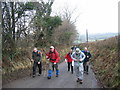 SN4635 : Heol y mynydd / Mountain road by Alan Richards