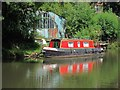 TQ5946 : Narrowboat near Town Lock by Oast House Archive