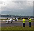 NM9035 : G-PUPY departs Oban Airport by The Carlisle Kid