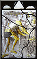SZ8593 : St Peter, Selsey - Stained glass window : Week 28