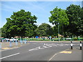 SP0993 : This divides the traffic-Perry Common, Birmingham by Martin Richard Phelan