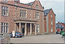 SJ5365 : Willington Hall Hotel, 1990 by Ben Brooksbank