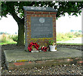 TM0298 : 452nd Bomb Group memorial near Deopham Green by Evelyn Simak