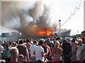 TV6198 : Eastbourne Pier fire : Week 30